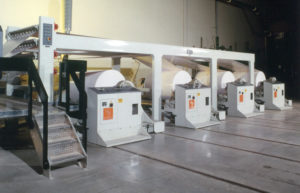 Web Carrier System Insures Wrinkle Free Sheeting Performance